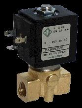 Электромагнитный клапан прямого действия нормально закрытый G1/4, (ODE, Italy)