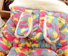 Детские куртки. Демисезонная куртка для девочки с ушками, фото 2