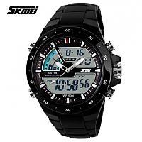 Мужские спортивные часы SKMEI SHARK BLACK