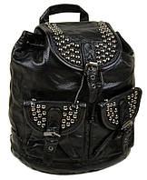 Большой кожаный женский рюкзак. Женская сумка девушкам. Сумка Портфель нетбук. ДР01, фото 1
