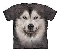 3D футболка для мальчика The Mountain р.M 7-10 лет футболки детские 3д (Аляскинский Маламут)