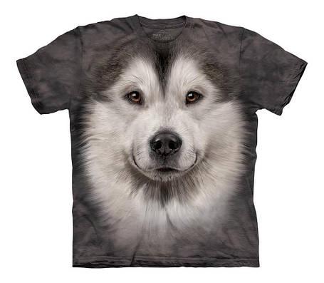 3D футболка для мальчика The Mountain р.M 7-10 лет футболки детские 3д (Аляскинский Маламут), фото 2