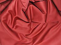Ткань сатин красный винный.