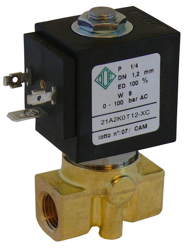 Электромагнитный клапан для воды 21A2K0T12-XC G1/4