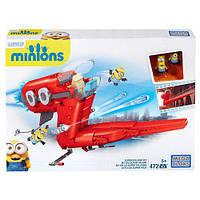 Мега Блокс Констуктор Миньоны Самолет Суперзлодея Mega Bloks Construx Minions Supervillain Jet