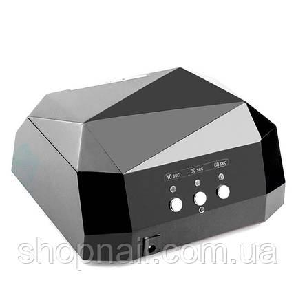 Led лампа гибрид (CCFL+LED) 36W, черная, фото 2