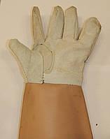 Перчатки рабочие Кожа