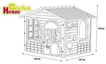 Большой детский домик Mochtoys, фото 3