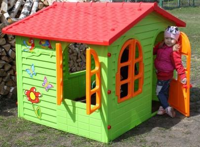 Большой детский домик Mochtoys