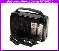 Радио RX 607,Радиоприёмник Golon RX-607AC,радиоприемник Golon