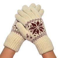 Женские зимние перчатки 03