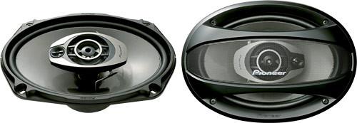 Автомобильная акустика Pioneer TS-A6963E 300W, автомобильные колонки A6963E