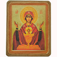 Икона Богородица Неупиваемая чаша XVIII в