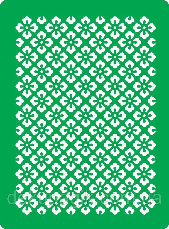 Трафарет самоклеящийся многоразовый Ф_12, 15х20см