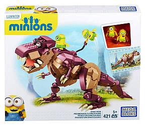 Мега Блокс Миньены верхом на динозавре Mega Bloks Minions Dino Ride Building Kit