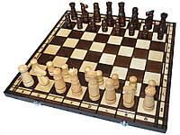 "Деревянные шахматы ""LARGE CASTLE"", 60х60 см. Большой замок"