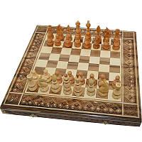 Резные шахматы + нарды+ шашки 50 х 50 см. Ручная работа
