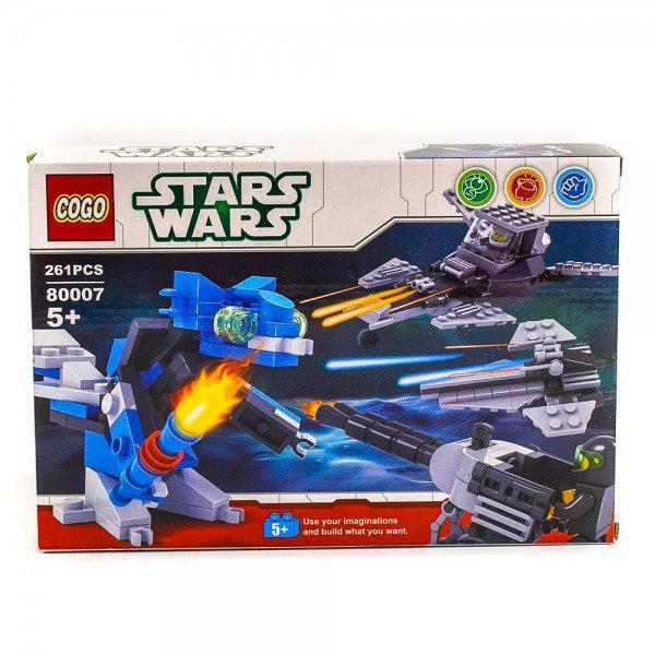 """Конструктор Cogo Stars Wars 80007 """"Воин"""" 261 деталь"""