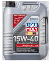 Масло моторное LIQUI MOLY SAE 15W-40 MoS2-LEICHTLAUF 5L
