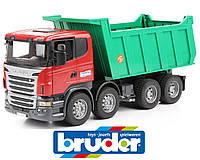 Самосвал грузовик SCANIA BRUDER 03550 игрушка
