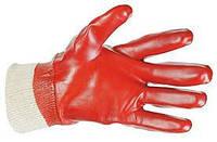 Перчатки рабочие маслобензостойкие красные