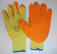 Перчатки рабочие Пена оранжевая