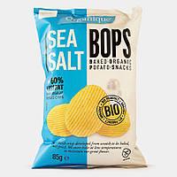 Чипсы с морской солью без глютена Organiqu