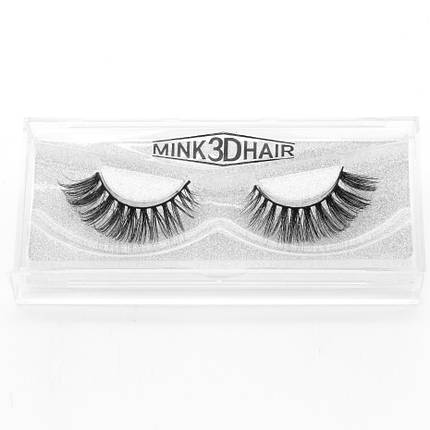 Норковые накладные ресницы Mink 3D Hair™ D Series D09, фото 2
