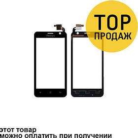 Сенсорный экран для мобильного телефона Prestigio 3350, черный