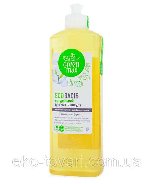 Средство для мытья посуды Green Max White Mandarin 500 мл