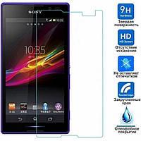 Закаленное защитное стекло для мобильного телефона Sony Xperia C / C2305 / S39h 0.3 мм 9H