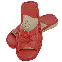 Тапочки женские летние, ШВН02. Красные