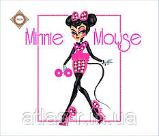 "Пошитий клатч Sugar glam для вишивки ""Glamour Minnie"""