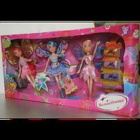 Кукла 63003 Волшебница, 3 шт, аксессуары