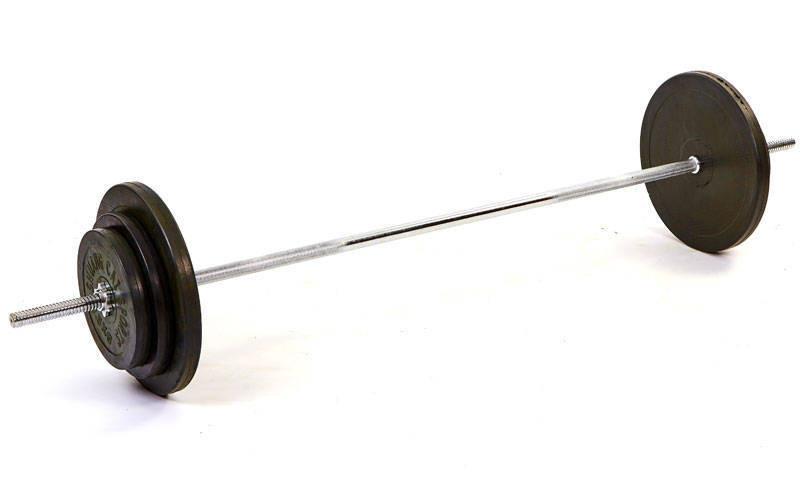 Штанга обгумовані диски 83 кг TA-1139-83R