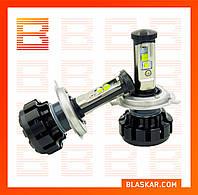 Комплект светодиодных автоламп LED  V18 Turbo H4, 40 W (пара) (производство LED, Китай)