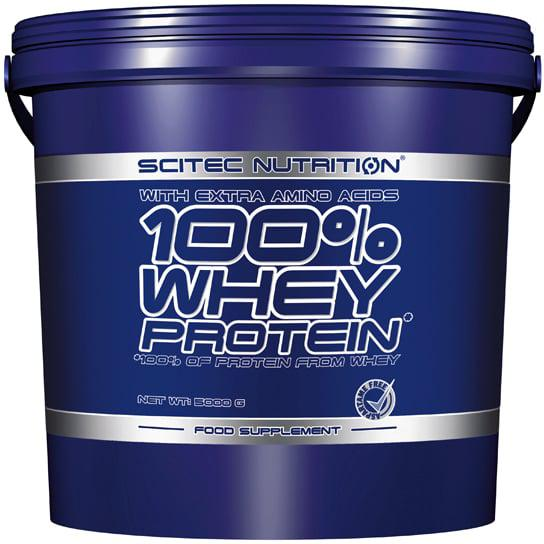 Протеин Scitec Nutrition 100% Whey Protein 5 kg