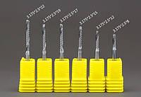 Фрезы одноперые с хвостовиком 3,175 мм и режущей 2,5 мм