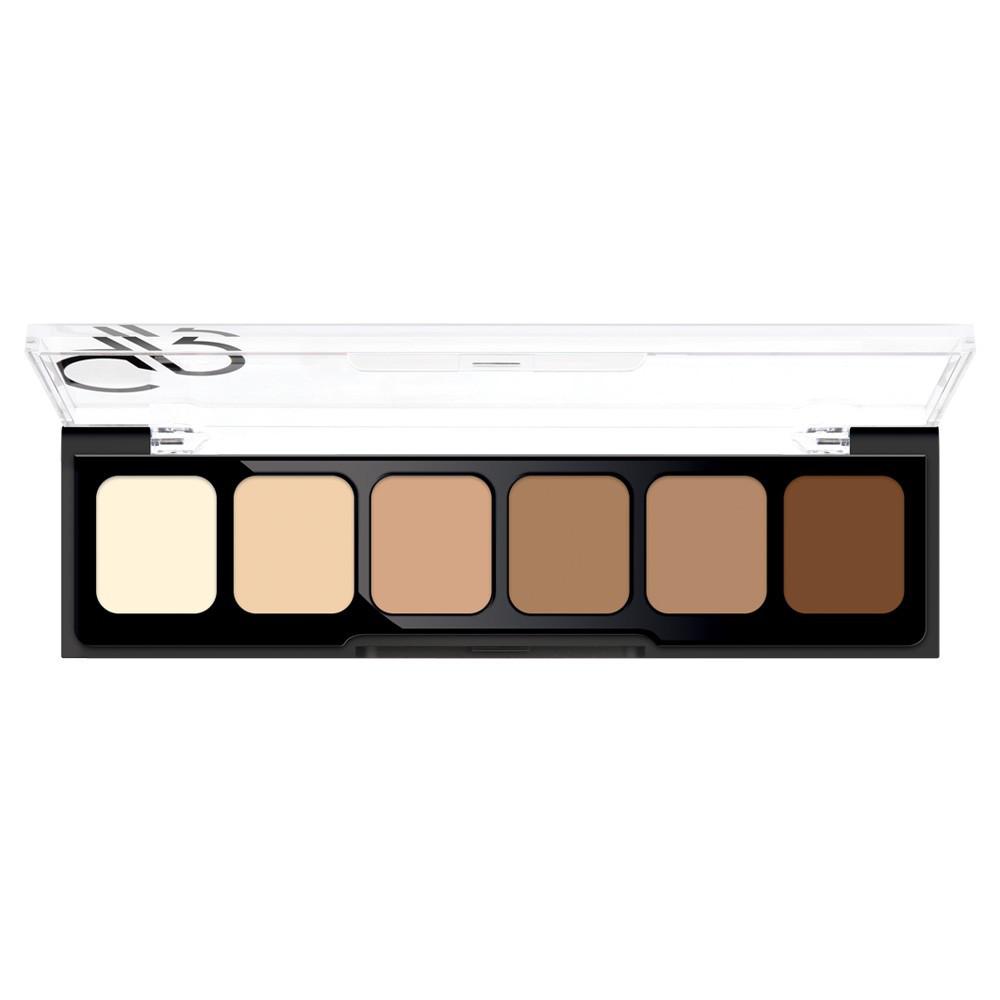 Консиллеры для макияжа Golden Rose Correct&Conceal Concealer Cream Palette №02