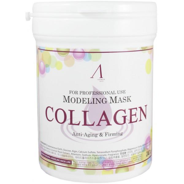 Альгинатная маска ANSKIN Modeling Mask Collagen Anti-Aging & Firming  - Интернет-магазин Меблионер в Днепре