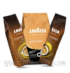 Кава в зернах Lavazza Caffe Crema Dolce 1 кг