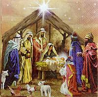 "Салфетка для декупажа""Рождество"""