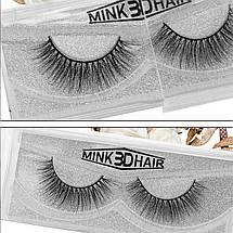 Норковые накладные ресницы Mink 3D Hair™ D Series D46, фото 3