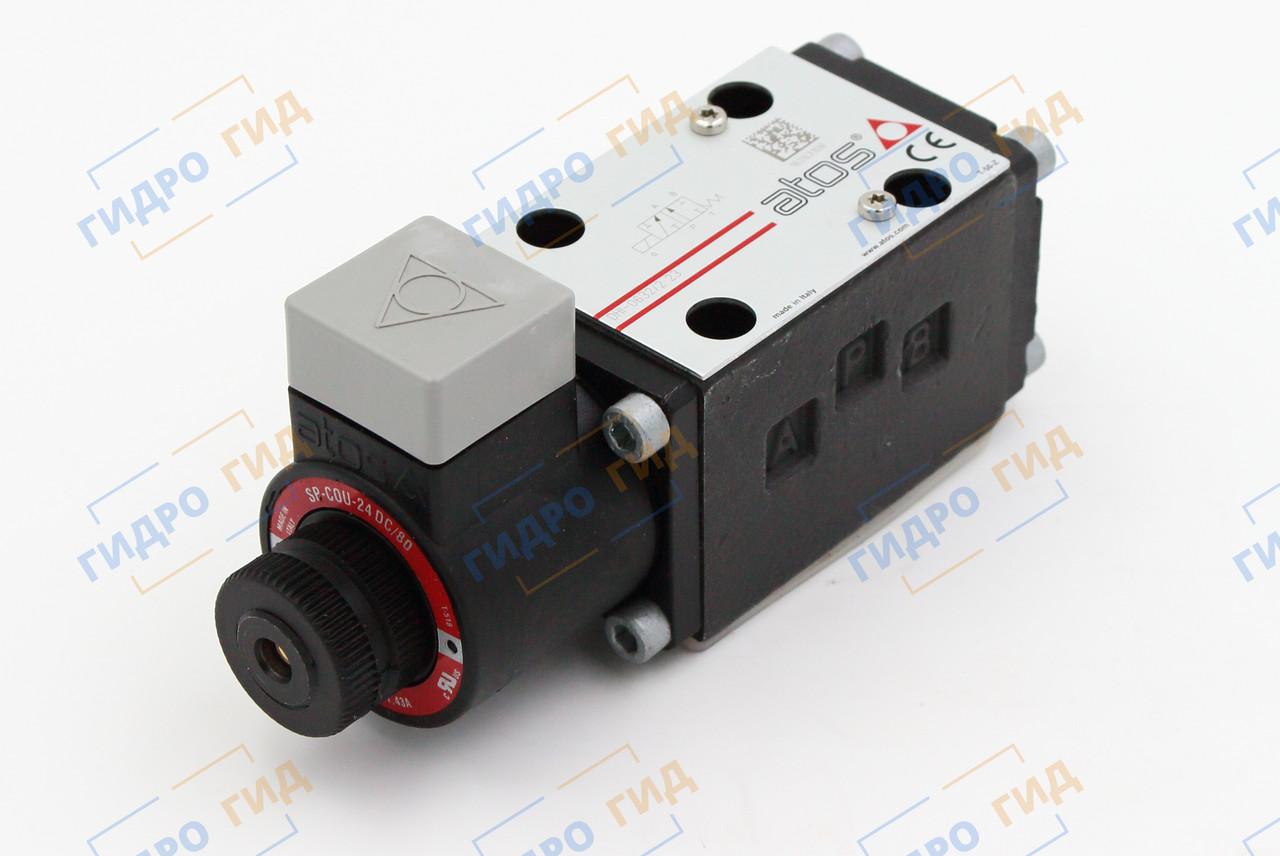 Гидрораспределитель с электромагнитным управлением Atos DHI (ДУ 6)  - Одномагнитный
