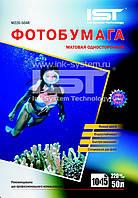 Фотобумага IST, матовая, A6 (10x15), 220 г/м2, 50 л (M220-504R)