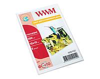 Фотобумага WWM, глянцевая, A6 (10х15), 200 г/м2, 5 л (G200.F5/C)