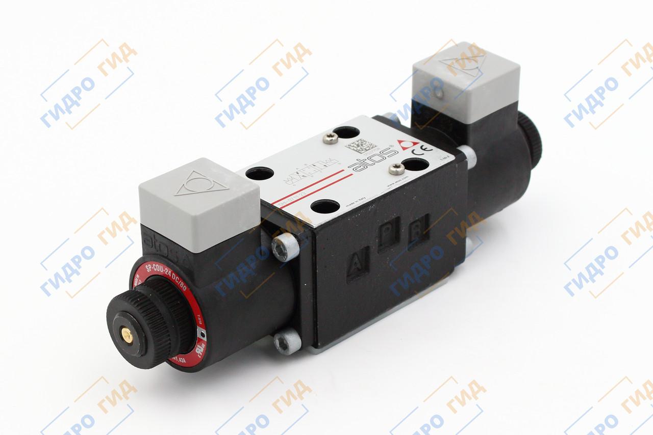 Гидрораспределитель с электромагнитным управлением Atos DHI (ДУ 6)  - Двухмагнитный