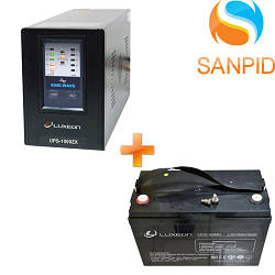 Источник бесперебойного питания Luxeon UPS-1000ZX + Аккумулятор Luxeon LX12-100MG 100Ah