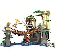 Конструктор LELE Ninja Битва Гармадона и мастера Ву 31070 (Аналог LEGO Ninjago Movie 70608) 336 дет. (Ниндзя)