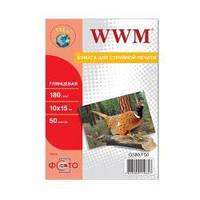 Фотобумага WWM, глянцевая, A4, 240 г/м2, 100 л, High White Series (G240.100)